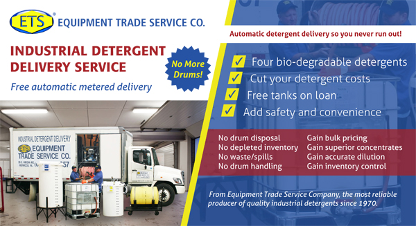 Industrial Detergent Delivery Click Photo for more information