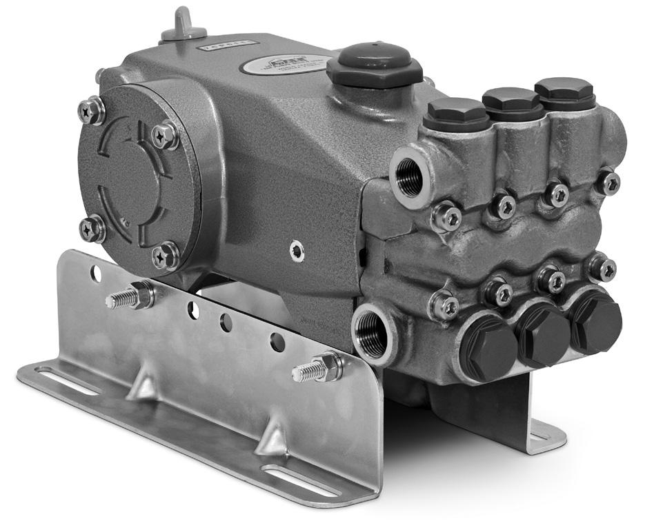 Cat Pumps 7cp6111g1 Pressure Washer Plunger Pump W