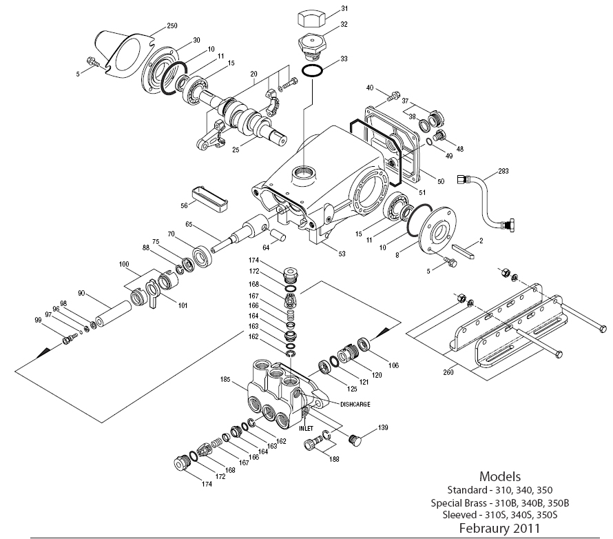 Cat Pressure Washer Pump Parts Diagram Wiring Library