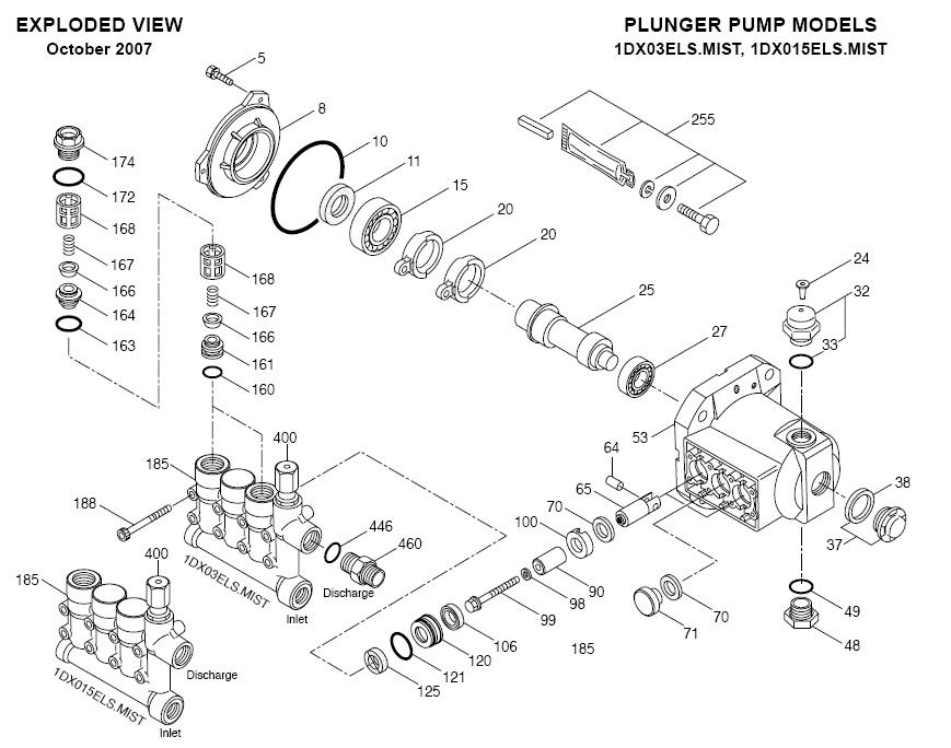 pressure washer parts  pressure washer cat parts