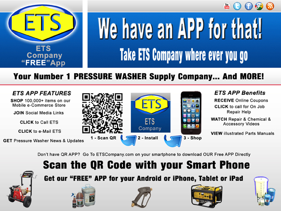 ETS CompanyETS Company Free APP for your Smart Phones