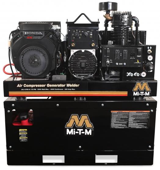 Mi T M Agw Sh22 20m Air Compressor Generator