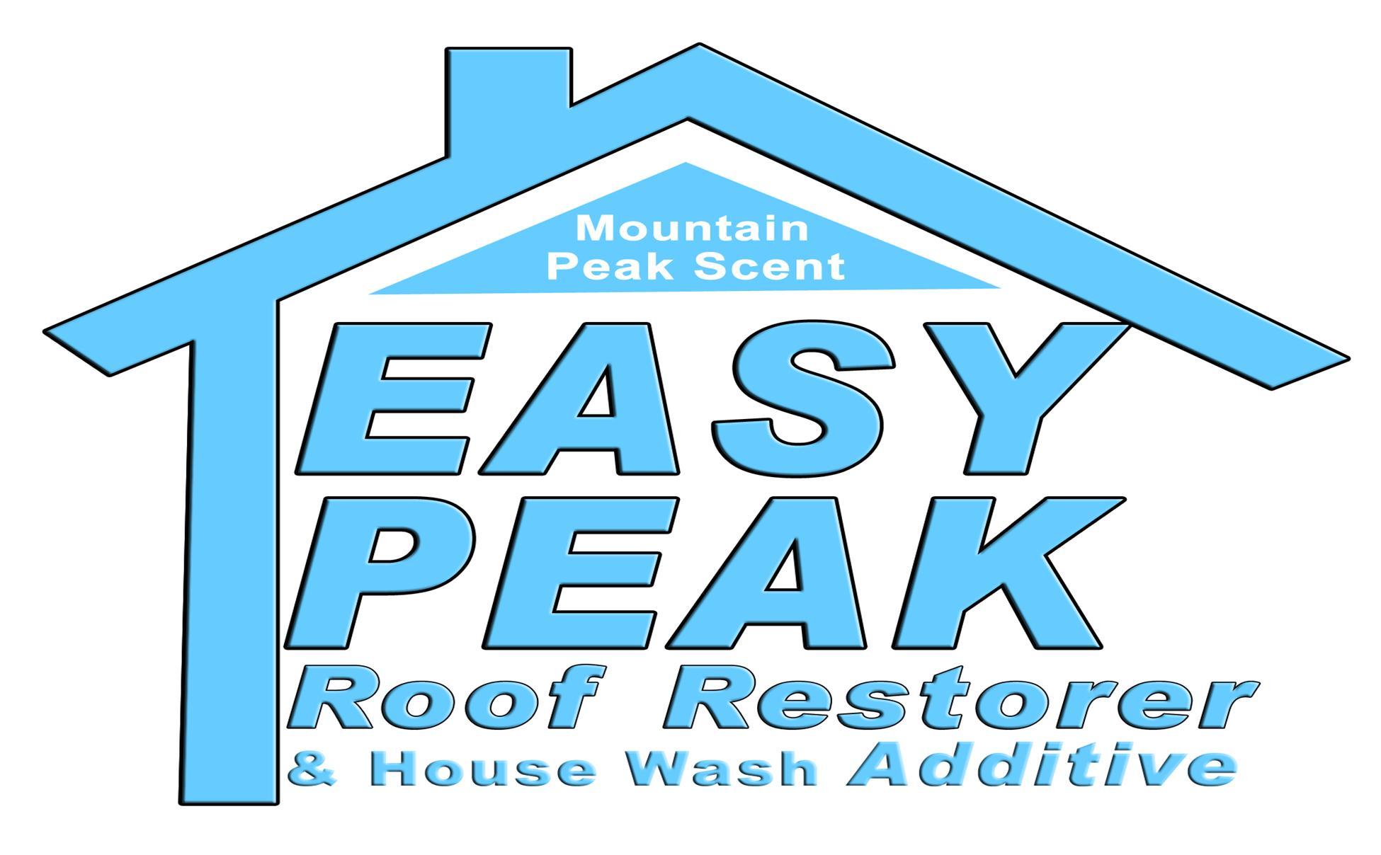 Introducing Easy Peak A Soft Wash Roof Restorer Ets