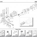 Exploded view of part on the RMV2.4G30D-EZ Annovi Reverberi Pump