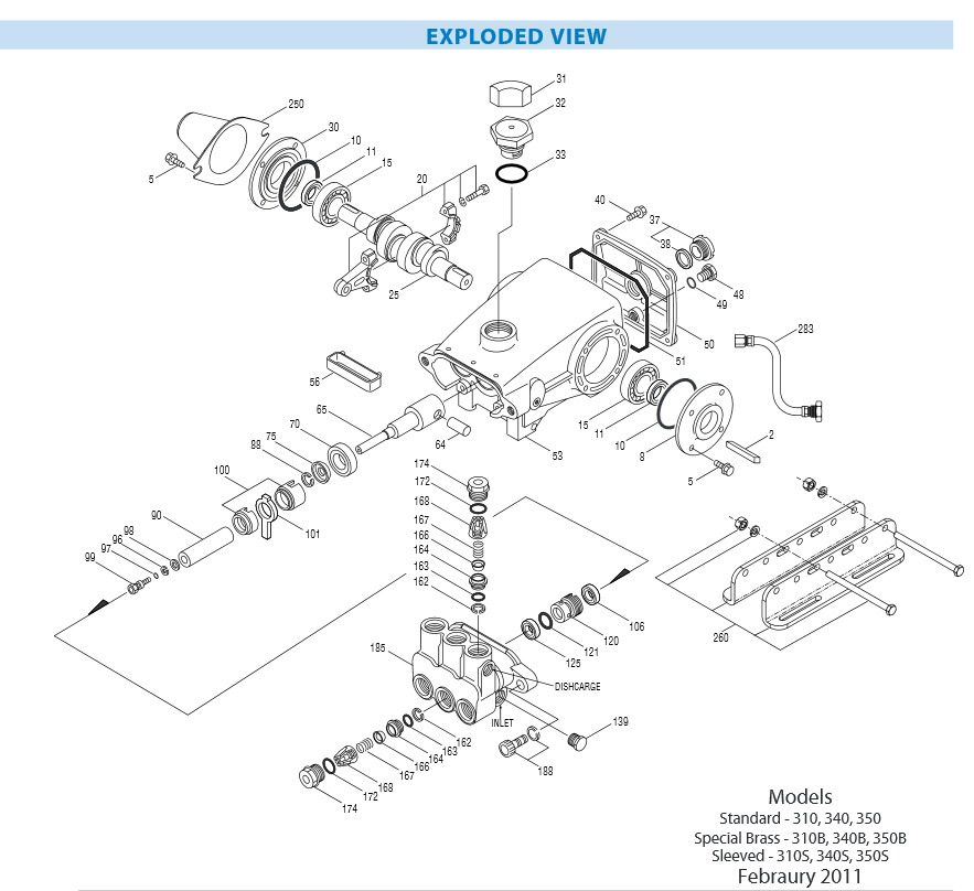30821 Valve Kit From Cat Pumps