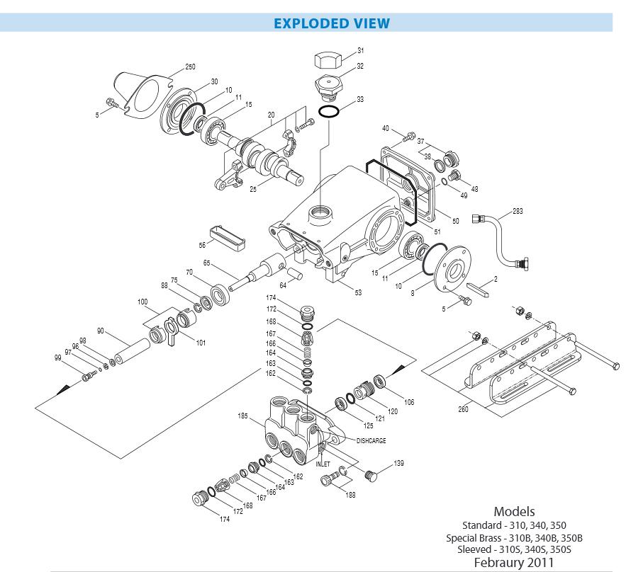 how to change pressure washer pump seals