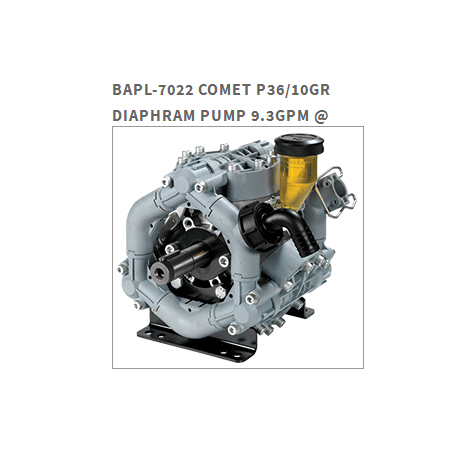 Get into Soft-washing with a COMET P36/10GR DIAPHRAGM PUMP
